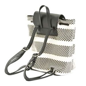 Christian Lacroix Angelique Black/White Backpack